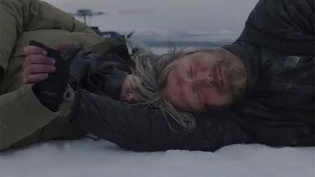 男子被困北极,雪地求生,每天钓鱼生吃,看完让人绝望!