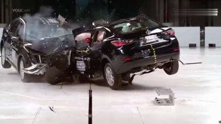 小型车与大型车谁最安全? 看完IIHS最新碰撞测试后就知道了