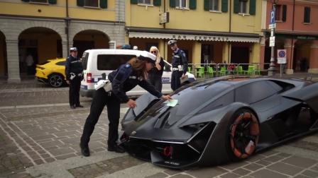 【实车亮相】这不就是传说中的电动蛮牛吗? Lamborghini Terzo Millennio!