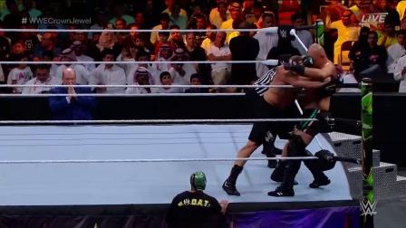 ufc169 WWE UFC凯恩再现地面整容拳术 布洛克莱斯纳抓住机会木村锁反杀将其锁拍