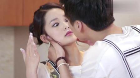 千金归来:长清眼睛进了东西,林皓帮她吹吹,不料是想亲她!