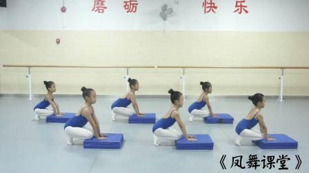 凤舞课堂:少儿舞蹈视频大全-少儿基本功训练:初级上2-压脚趾