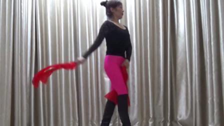 洋雪梅广场舞彩绸舞《越来越好》