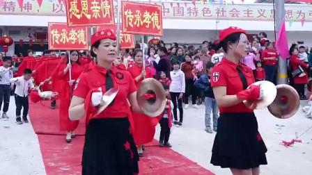 广西陆川姑妈回娘家,这浩浩荡荡的场面,太热闹了