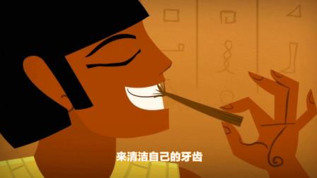 螺丝钉:古代人们用树枝刷牙,直到二百多年前,人们才发明了牙刷