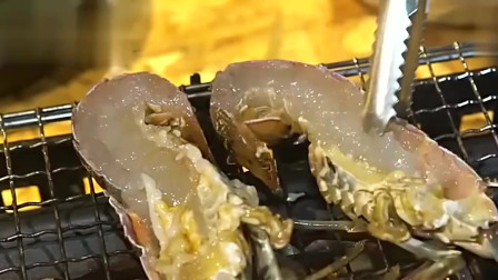鲜活现杀的大龙虾和鲍鱼,一场海鲜的饕餮盛宴