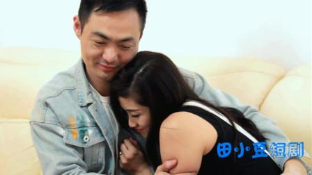 男子说了句情话,把女朋友幸福得立刻投进男友怀抱
