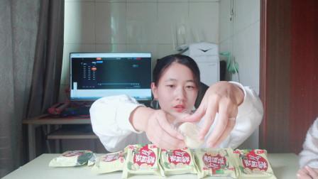 """试吃重口味""""榴莲饼"""",对于不爱吃榴莲的简直就是灾难"""