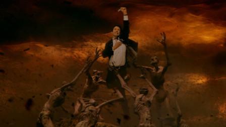 一部高燃的魔幻影片,男子拥有驱魔能力,能掌控怪物生死