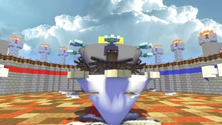 我的世界动画-怪物学院-战斗陀螺挑战-MineCZ
