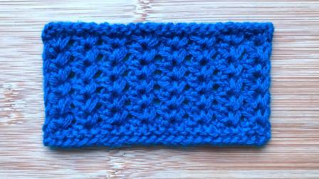 一款精致细小的棒针花样,立体大方,给儿童织外套很漂亮毛线编织图案