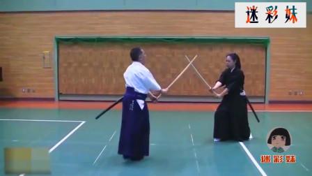 日本武士道有多厉害,看看这位女人出刀速度有多快,厉害!