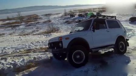雷克萨斯LX470、三菱帕杰罗、Lada等SUV户外挑战越野