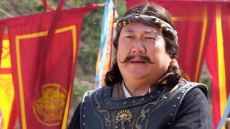 沙陀罗王叫板李元霸,元霸不以为然,随手一锤子取他性命!