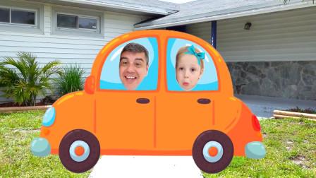 好奇怪啊!爸爸帶著萌娃小蘿莉要去哪里呢?為何她一臉都不高興!