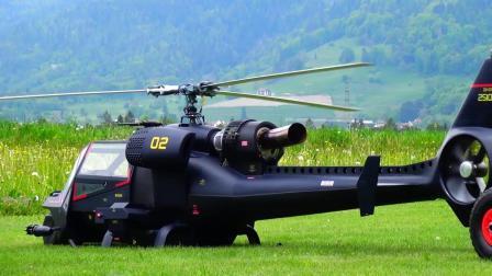 BlueThunder 蓝霹雳 仿真RC遥控直升机飞行表演