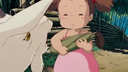 龙猫:妹妹小梅抱着玉米,姐姐一句话她瞬间哭了起来,让人心疼!