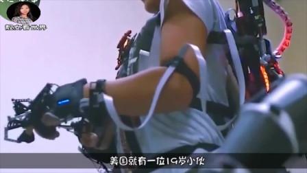 将电影带到现实,美国小伙怒砸330万美元,研究章鱼博士机械臂