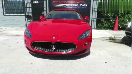 好看豪华能装,红色玛莎拉蒂Gran Turismo,一款能泡妞的车!