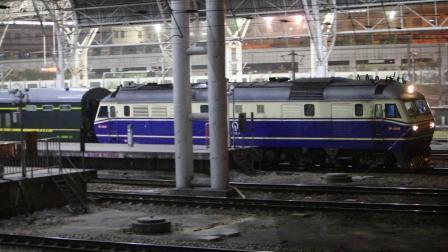 【19.10】K347次出南京站 上局徐段DF110340