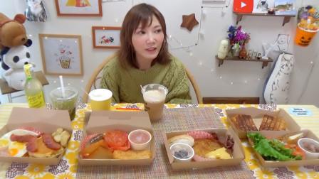 大胃王木下佑香:四国早餐!今天最喜欢的早餐是?