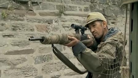 我的兄弟叫顺溜:鬼子军官的话惹到神枪手,他一枪下去军官懵了