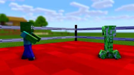 我的世界动画-怪物学院-拳击-TooBizz