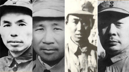 新四军改编之初下辖四个支队,支队司令都是谁?1955年被授什么衔