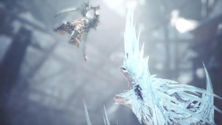 【学徒】怪物猎人冰原全剧情攻略解说09硫斩龙 月晨防卫战