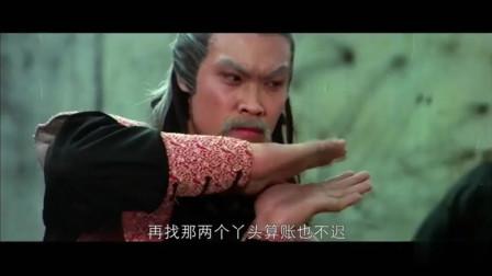 一招半式闯江湖:白发老者一双铁掌了得,竟空手接利剑