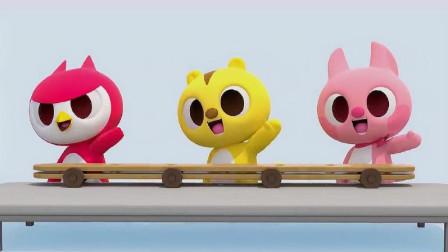 迷你特工队宝宝早教动画-露西想吃冰淇淋_这些冰淇淋好漂亮呀