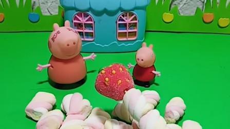 佩琪今天又要吃糖了,妈妈不能在吃了,吃多会肚子痛的。后来佩琪就不吃了。真是好孩子子。