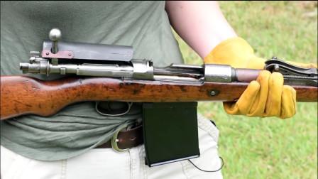 """细听老步枪加弹的""""咔嚓咔嚓""""声音,听着真舒服,这是什么枪?"""