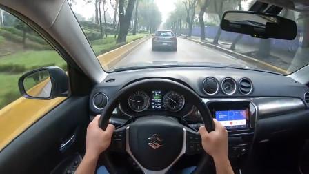试驾2020款铃木维特拉,开车上路的那刻,才知道视野有多宽阔