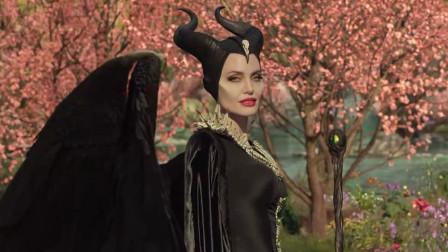 沉睡魔咒2精彩片段,44岁的安吉丽娜·朱莉太惊艳迷人了!