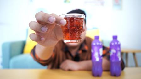 很多人没喝过的黑加仑口味格瓦斯,源产俄罗斯,味道很特别