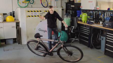 """清华大学的自行车""""成精""""了,就这研发水平,不是世界顶级大学才怪!"""