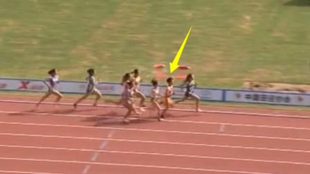 人不可貌相?前400米默默无闻,但19岁中国女飞人爆发逆转夺冠