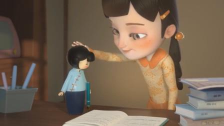 女孩发现木偶复活,命令她天天写作业,最后自己变成了木偶!