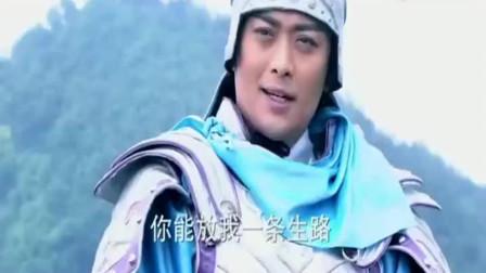 薛仁贵征东终级对决,薛仁贵飞戟秒杀渤梁元帅