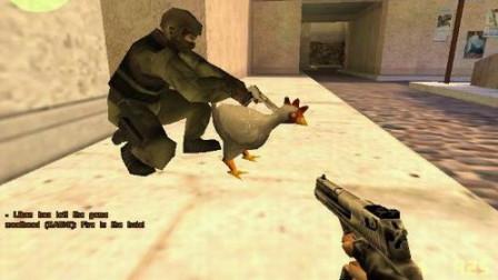 反恐精英CS:经典的射击游戏,看外国高手怎么玩成跑酷的?