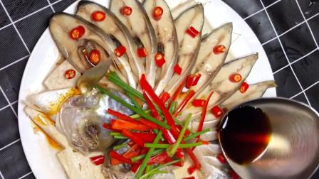 金昌鱼这样做才能吃出海鲜的原汁原味,只放酱油没想到还这么好吃