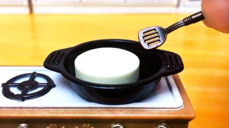 定格动画美食:熬一颗牛奶糖,你想不出原材料是什么,太有趣了