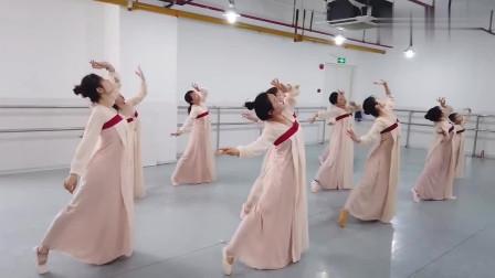 丽人行舞蹈视频,小姐姐们个个都太仙了,超好看