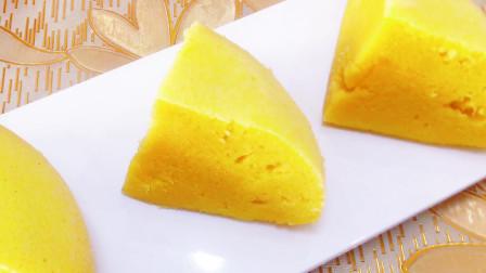 不用打发,不用发酵,做好吃的玉米面蒸蛋糕,比买的还好吃
