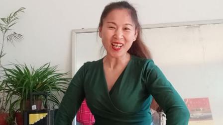 赵茉莉广场舞 今生的唯一  简单易学