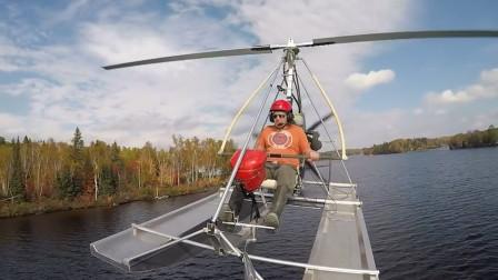 """老外做出名副其实的""""飞船"""",既能在水中行驶,也能在天上飞翔"""