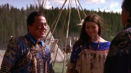 成龙在印第安部落抽大烟一觉醒来发现自己成为族长女婿