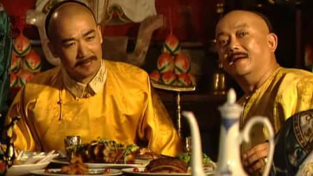 刘墉送字画为和珅贺寿,字里行间暗藏着玄机,皇上:不愧是当今奇才