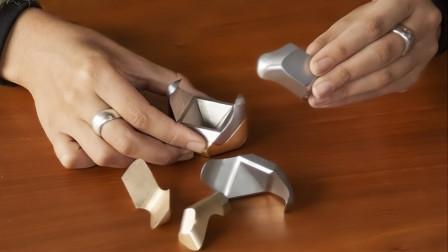 又一块能证明你有钱又有闲的金属,8个部件,拼出创意新玩法